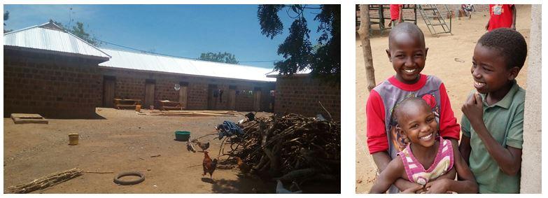 Waisenhaus und Kinder